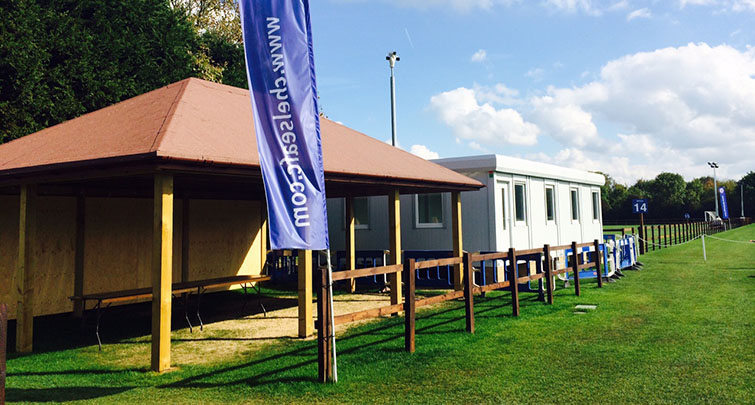 Concept Accommodation installation at Chelsea Football Club