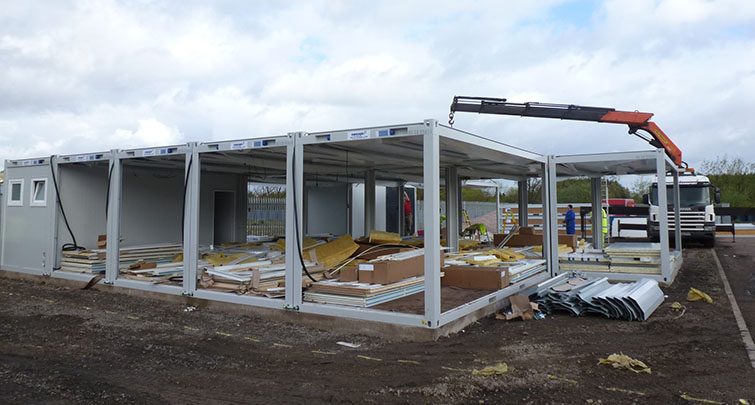 Concept Accommodation - Installation of Modular Building