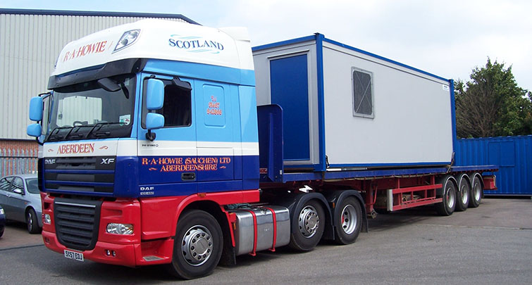 Concept Accommodation - Modular Building delivery