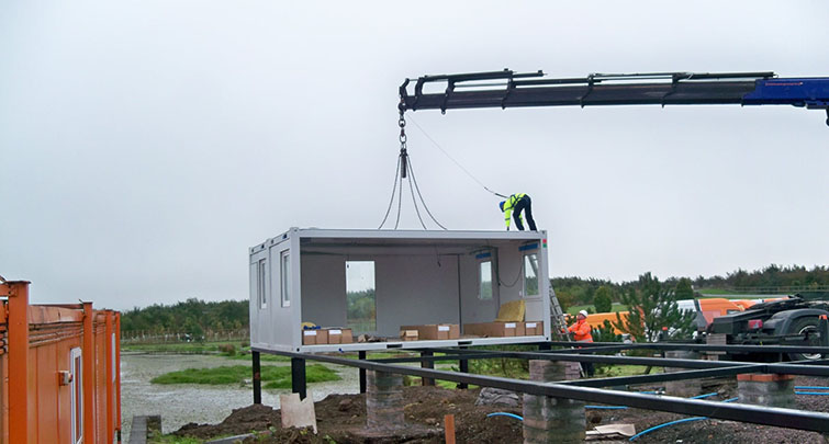Concept Accommodation - Modular Building delivery and installation