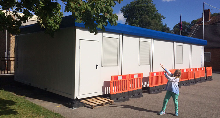 Concept Accommodation - Modular Building Installed
