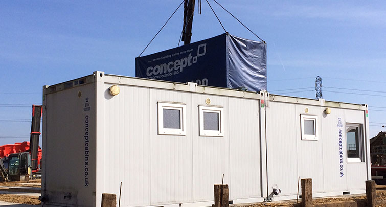 Concept Accommodation - Portable Building Installation