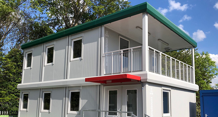 Concept Accommodation - 2019 Modular Show Buildings