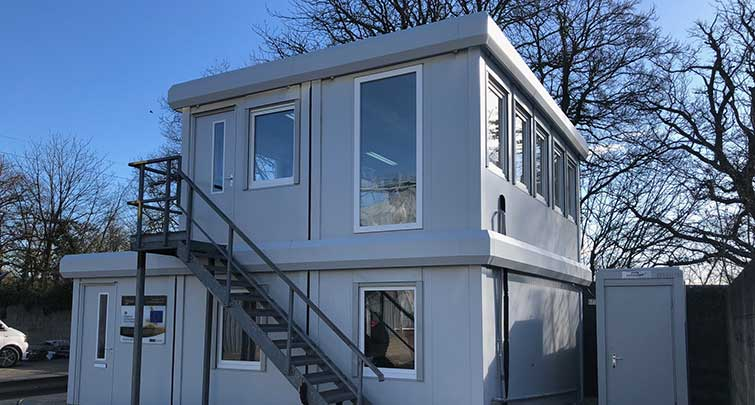 Concept Accommodation - Modular Buildings 2 storey