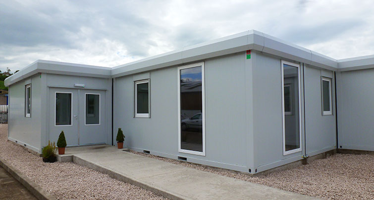 Concept Accommodation - Modular Building Multi-Room