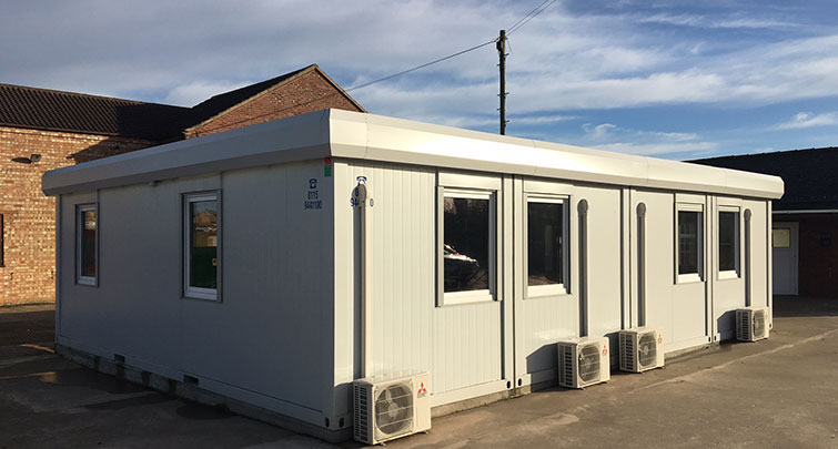 Concept Accommodation - Modular Buildings External with climate control