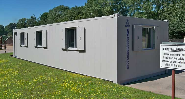 Concept Accommodation - Portable Buildings 2 storey exterior