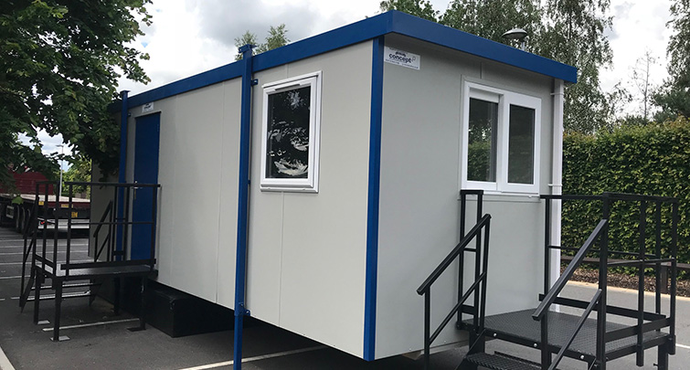 Concept Accommodation - Portable Buildings Gatehouse Unit