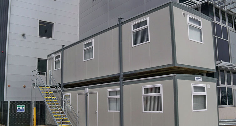 Concept Accommodation - Portable Buildings Exterior