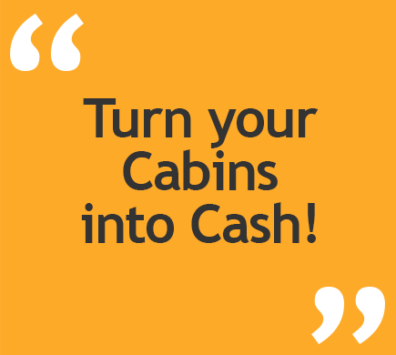 Concept Accommodation - Turn your cabins into cash