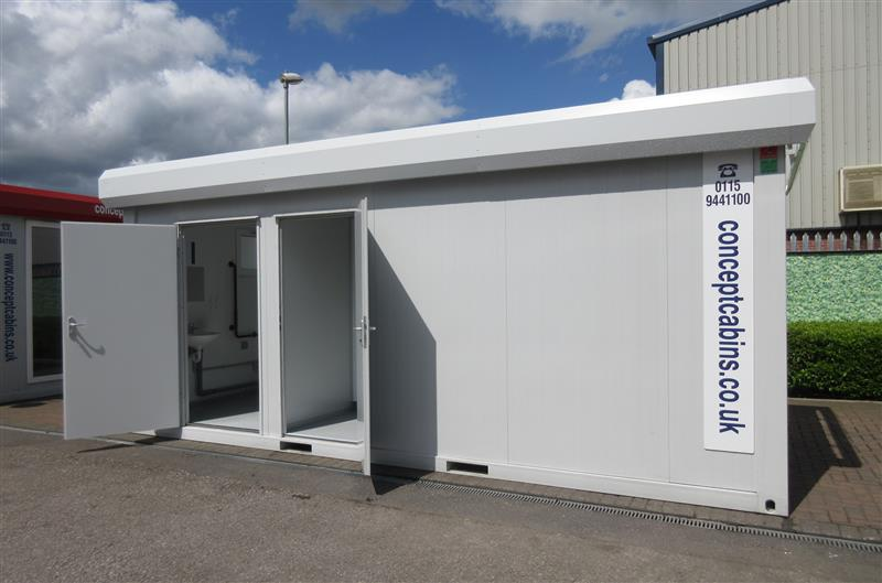 BRAND NEW - 20' x 8' (6m x 2.4m) 3+1/Disabled WC, Excellent Value! (3+1 WC)