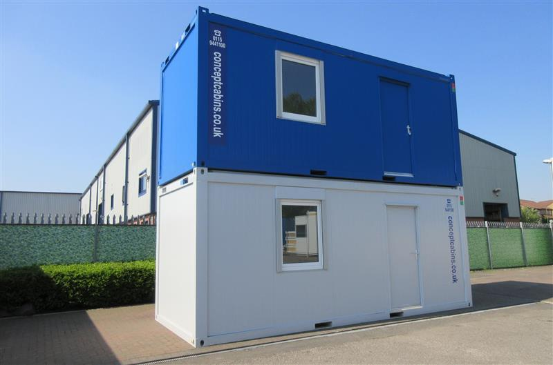 Brand New 20' x 8' (6m x 2.4m) Anti-Vandal Units- Office, Toilet & Kitchen!