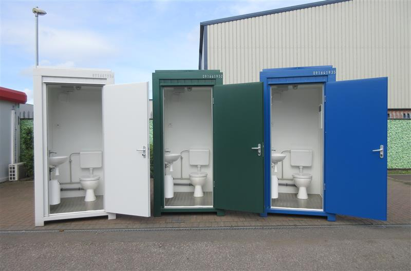 BRAND NEW - Single Toilet Unit, Blue, Grey & Green in Stock! (SingleWC)