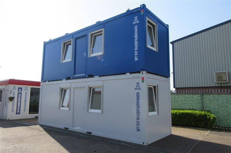 Brand New 24' x 8' / 7.3 x 2.4m Anti-Vandal Units, Office, Toilet & Kitchen