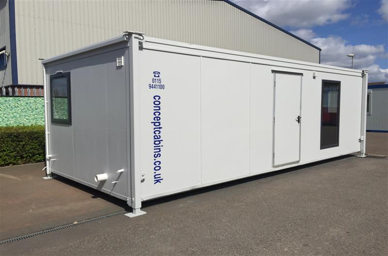 24' x 10' PORTAKABIN BUILDING Office, Kitchen & Toilet, EXCELLENT!