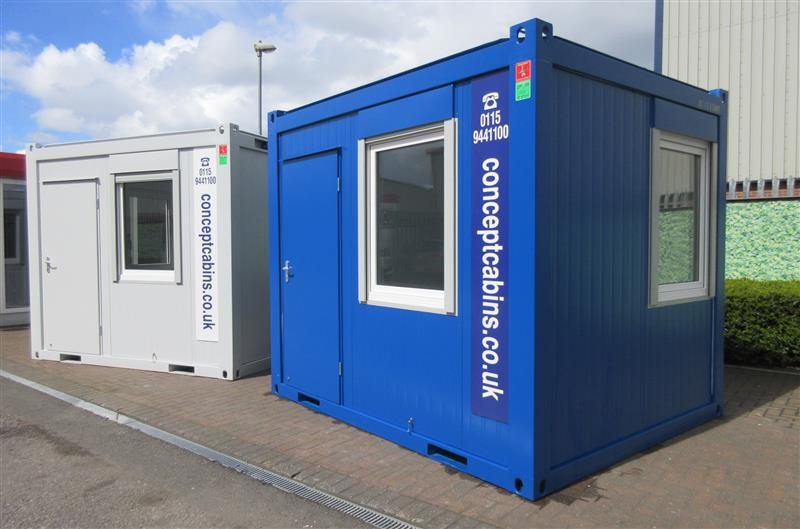 Brand New 10' x 8' / 3m x 2.4m Anti-Vandal Units, Available in Blue & Grey