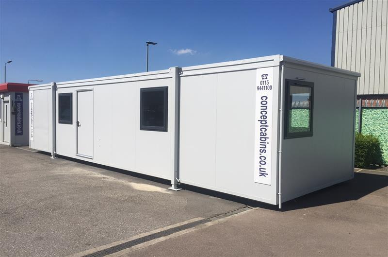 34' x 10' PORTAKABIN BUILDING Office, Kitchen and Toilet (34'REFURB)