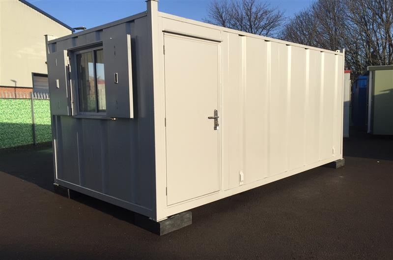 BRAND NEW - 16' x 8' Anti-Vandal Canteen Unit, One Off Special Unit! (7241)